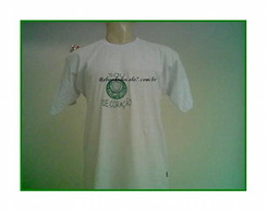Camiseta Adulto Bordada C�d.102
