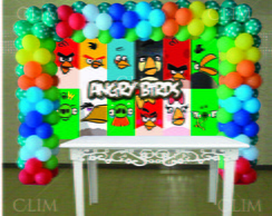 Painel Grande Angry Birds(Frete Gr�tis