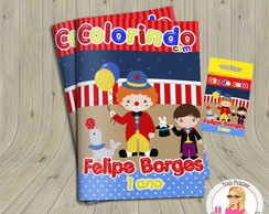 Kit colorir Circo