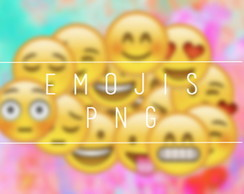 Emojis Arquivo Digital p/Impress�o JPEG