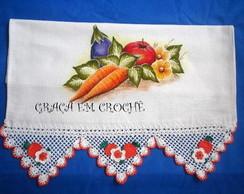 Pano de Prato Cenoura