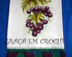 Pano de prato de uva