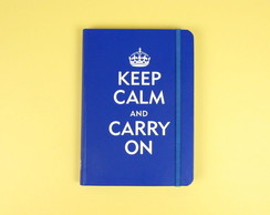 Caderno Keep Calm and Carry On