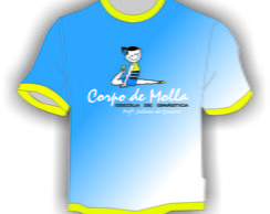 Camiseta baby look uniforme