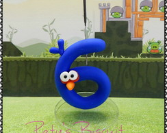 Vela decorada Blue Bird - Angry Birds