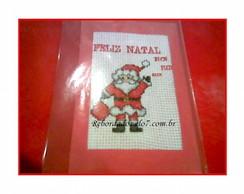 Cart�o de Natal Bordado