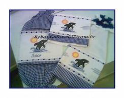 Kit de Cozinha Bordado C�d.074