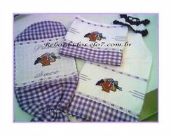 kit de Cozinha Bordado C�d.R182