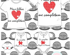 Kit Fam�lia Completa - 4 Pe�as
