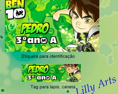 Kit Escolar digital Ben 10