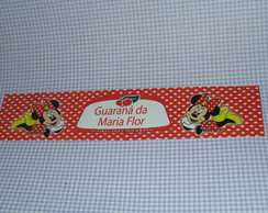 R�tulo Guaran� Minnie