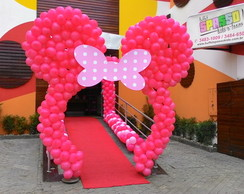 arco orelha do minnie rosa!