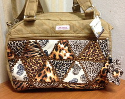 Bolsa Executiva I animal print