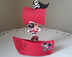 Enfeites de mesa minnie Pirata