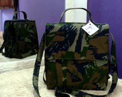 Lunch Bag T�rmica Camuflada 25cm Al�a