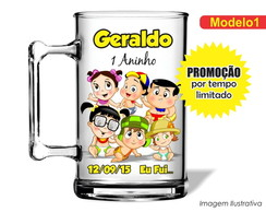 Caneca Acr�lica Chaves Baby 350ml