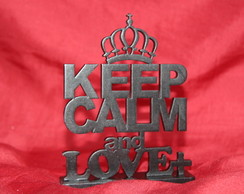 Miniatura Keep Calm e �rvore