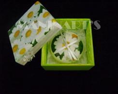 caixa com sabonete