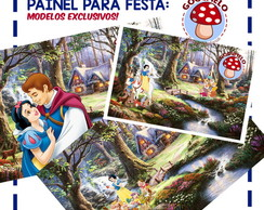 Painel Digital Branca de Neve -Exclusivo