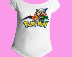 Camiseta Gola Canoa Pokemon 04