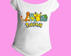 Camiseta Gola Canoa Pokemon 05
