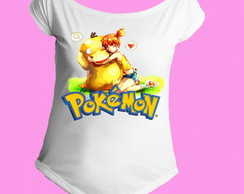 Camiseta Gola Canoa Pokemon 07