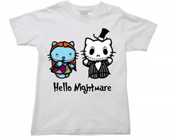 Camiseta Halloween Hello Kitty 01