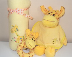 Kit Beb� Girafa - 4 pe�as
