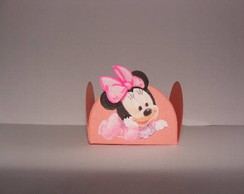 BABY MINNIE - FORMINHAS DECORADAS