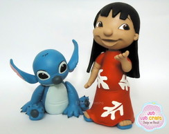 Lilo e Stitch ( 2 personagens)