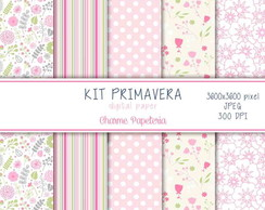 Kit Papel Digital Primavera