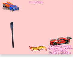 Hot Wheels rosa Quadro M�gico