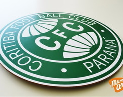 Quadro Decorativo Placa Coritiba Mdf 3mm