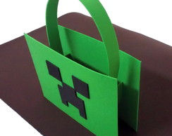 Sacolinha Surpresa Minecraft - Creeper