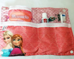 Kit Higiene Frozen Rosa