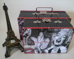 kit de maletas Marilyn Monroe