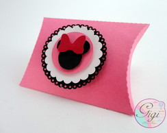 Lembrancinha pillow box Minnie Mouse