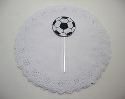 Toppers para doces - bola / futebol