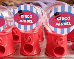 MINI BALEIRO CANDY MACHINE TEMA CIRCO