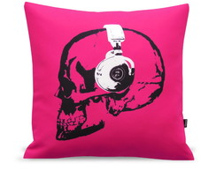 ALMOFADA FASHION SKULL HEADPHONE PINK
