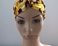 Turbante Aber Cruzado Animal Print