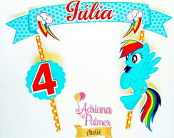 Topper para bolo My Little Pony