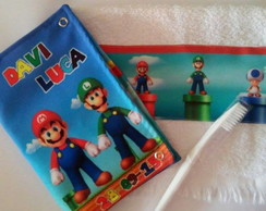 Kit Higiene Mario Bross