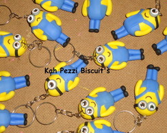 Chaveiros minions de biscuit