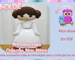 Molde Princesa Leia - Star Wars