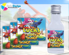 R�tulo para Garrafinha 50ml Super Wings