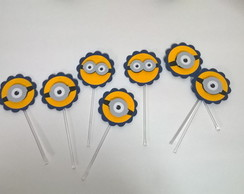 Festa Minions toppers personalizados