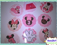 Kit Aplique 3D (100und) - Minnie