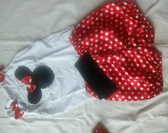 conjunto da minnie