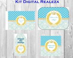 Kit Digital Realeza 4 R�tulos